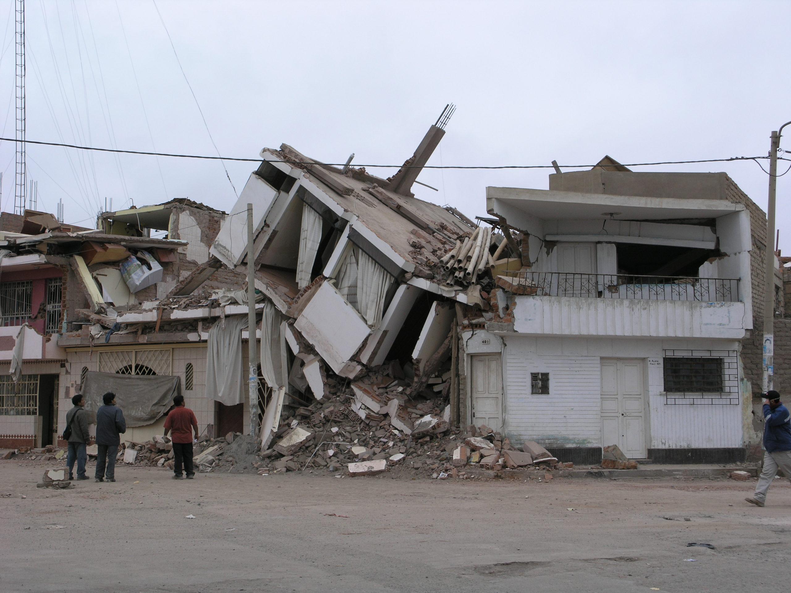 70% der Häuser beschädigt